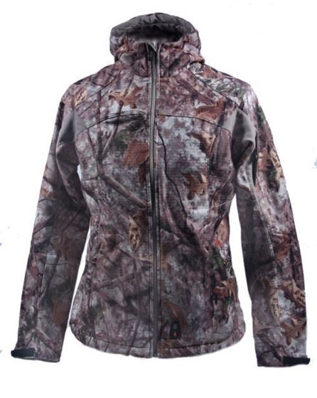 Picture of Gerbing Cabelas 7V Women's Heated Performance Softshell Hooded Jacket (Jacket Only)